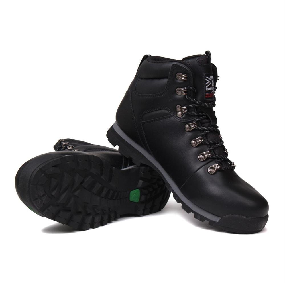 KARRIMOR Men's Munro Mid Waterproof Hiking Boots - BLACK