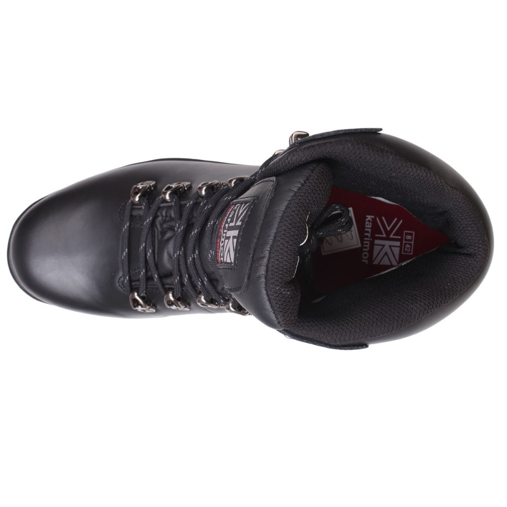 KARRIMOR Men's Skiddaw Mid Waterproof Hiking Boots - BLACK