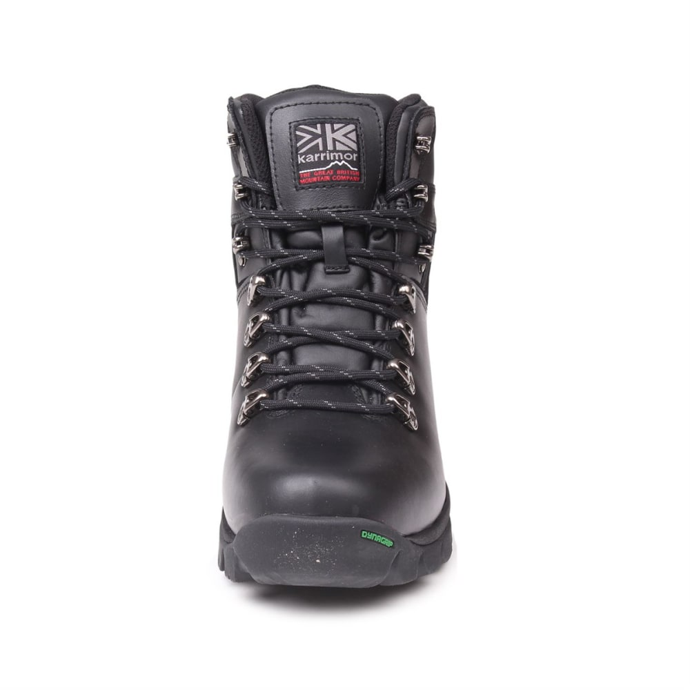 KARRIMOR Men's Skiddaw Mid Waterproof Hiking Boots - BLACK