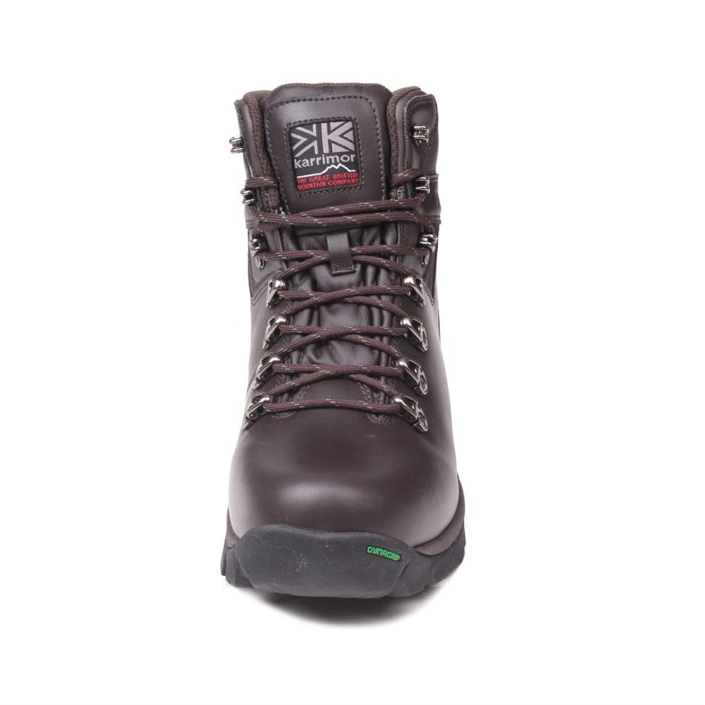KARRIMOR Men's Skiddaw Mid Waterproof Hiking Boots - BROWN