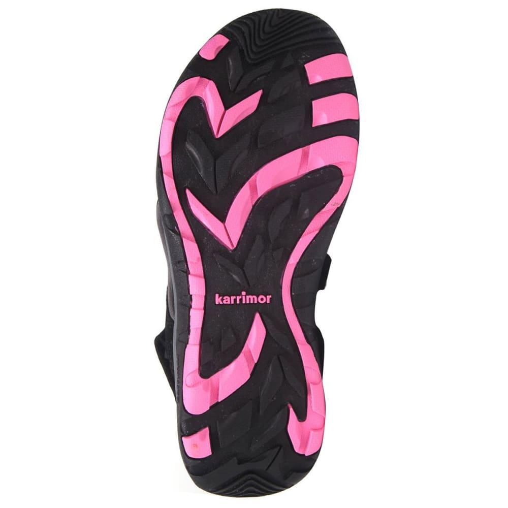 KARRIMOR Women's Antibes Sandals - BLACK