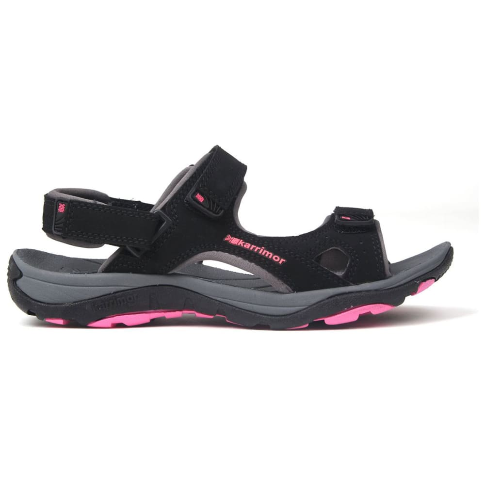 KARRIMOR Women's Antibes Sandals - BLACK