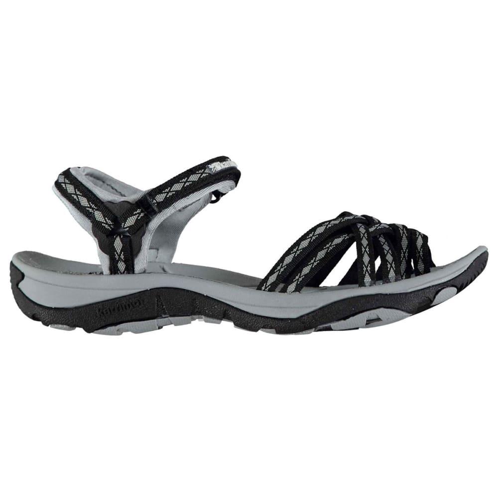 KARRIMOR Women's Salina Sandals - BLACK