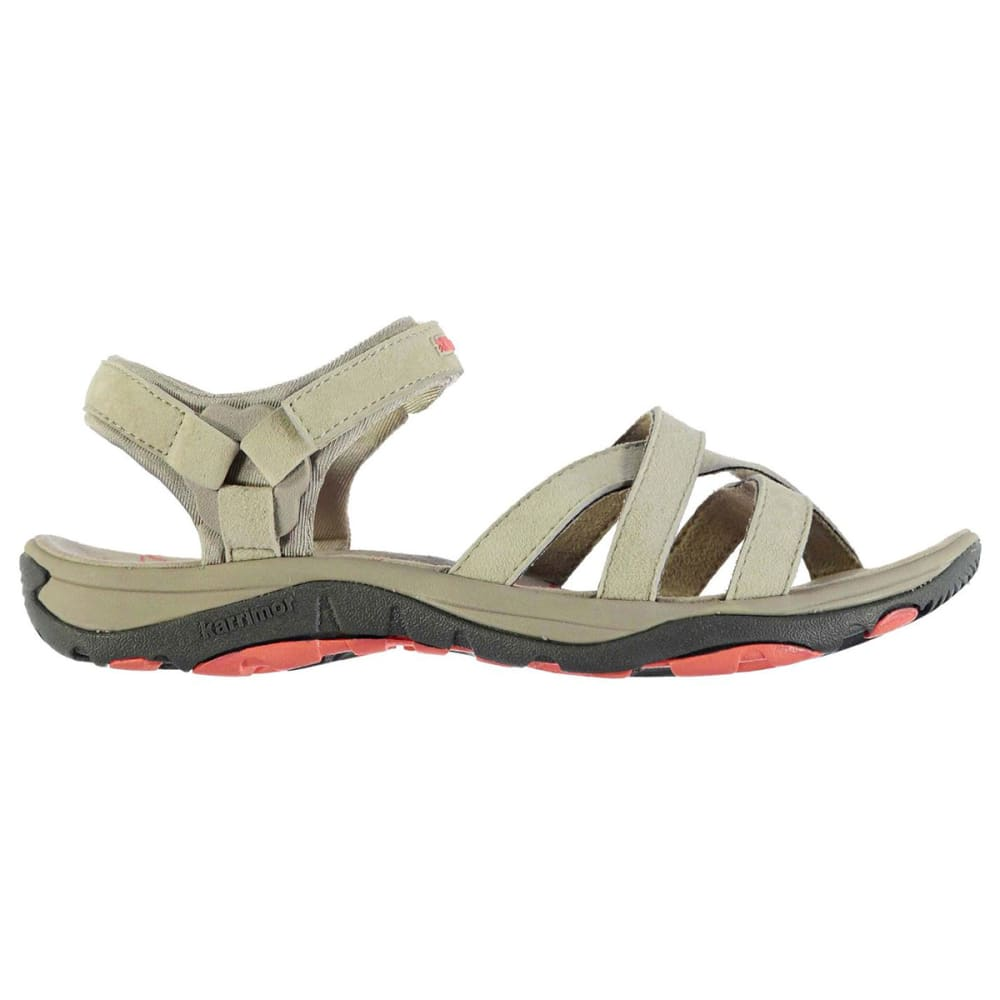 KARRIMOR Women's Salina Leather Hiking Sandals - BEIGE