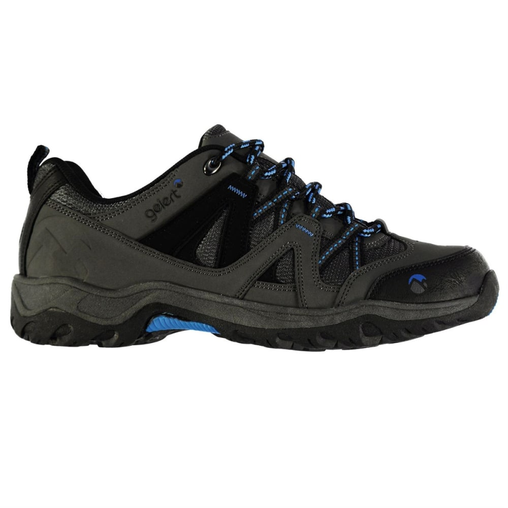 GELERT Kids' Ottawa Low Hiking Shoes - CHARCOAL/BLUE