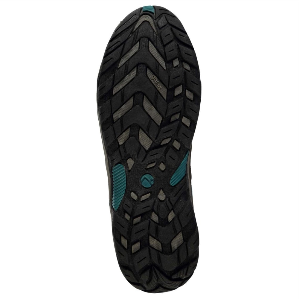 GELERT Women's Ottawa Low Hiking Shoes - BROWN/TEAL