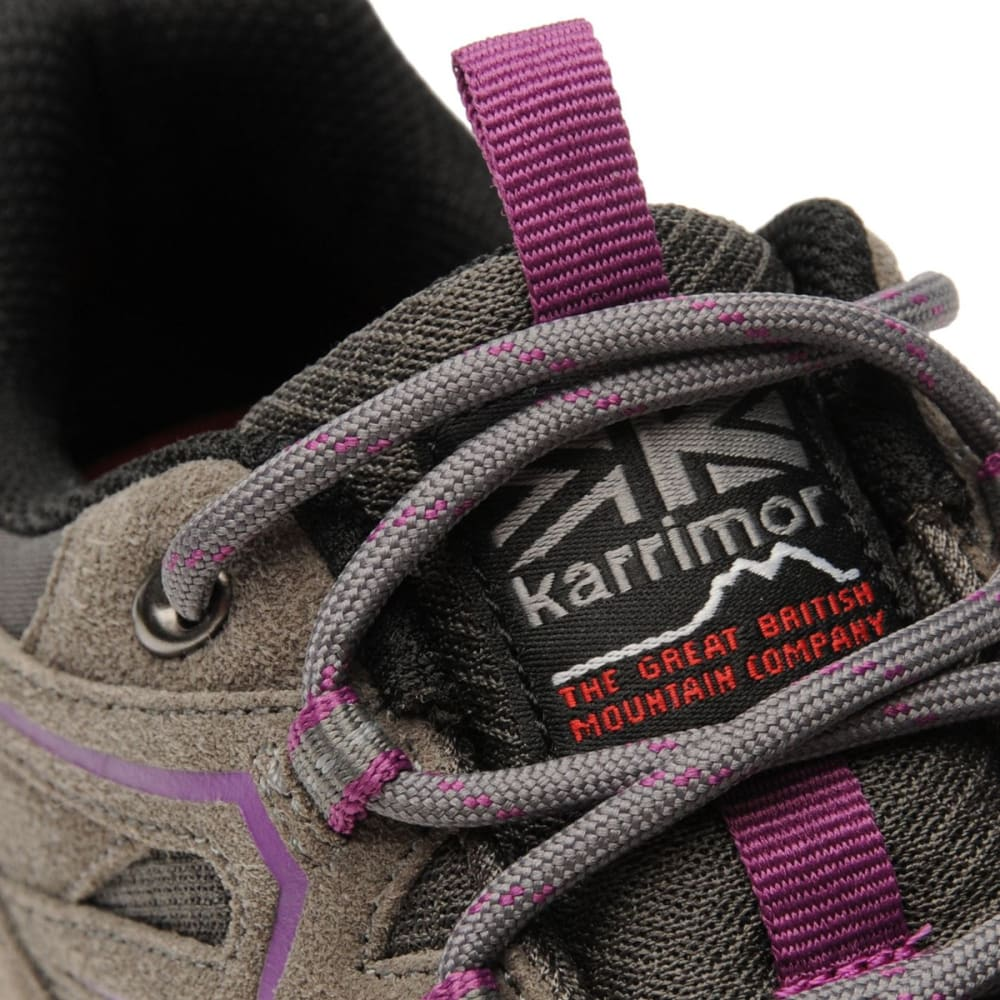 KARRIMOR Women's Summit Low Hiking Shoes - CHARCOAL