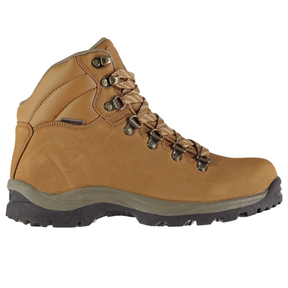 GELERT Women's Atlantis Low Waterproof Hiking Boots - BROWN