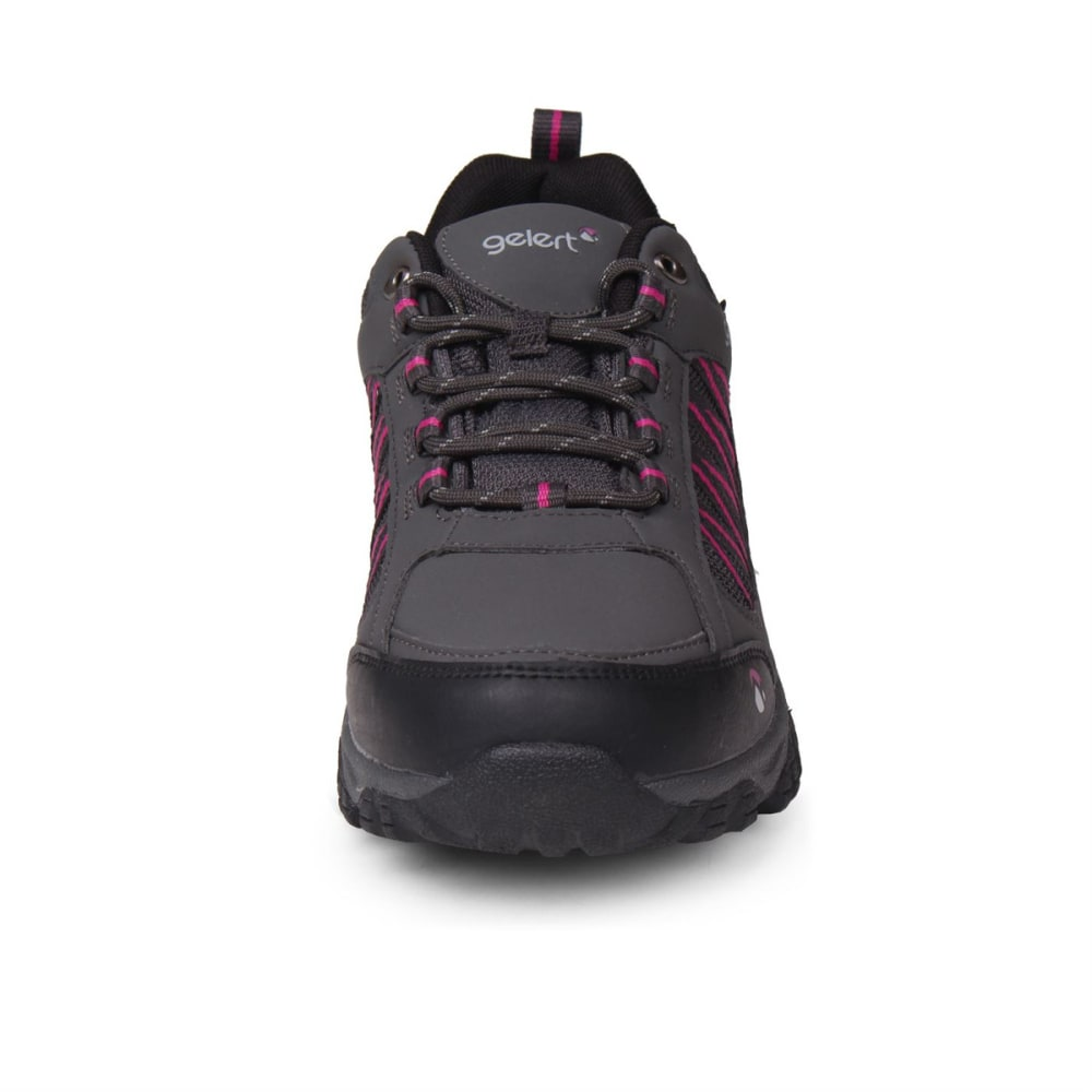 ... GELERT Women  39 s Horizon Low Waterproof Hiking Shoes - CHARCOAL ... 18dda5039b