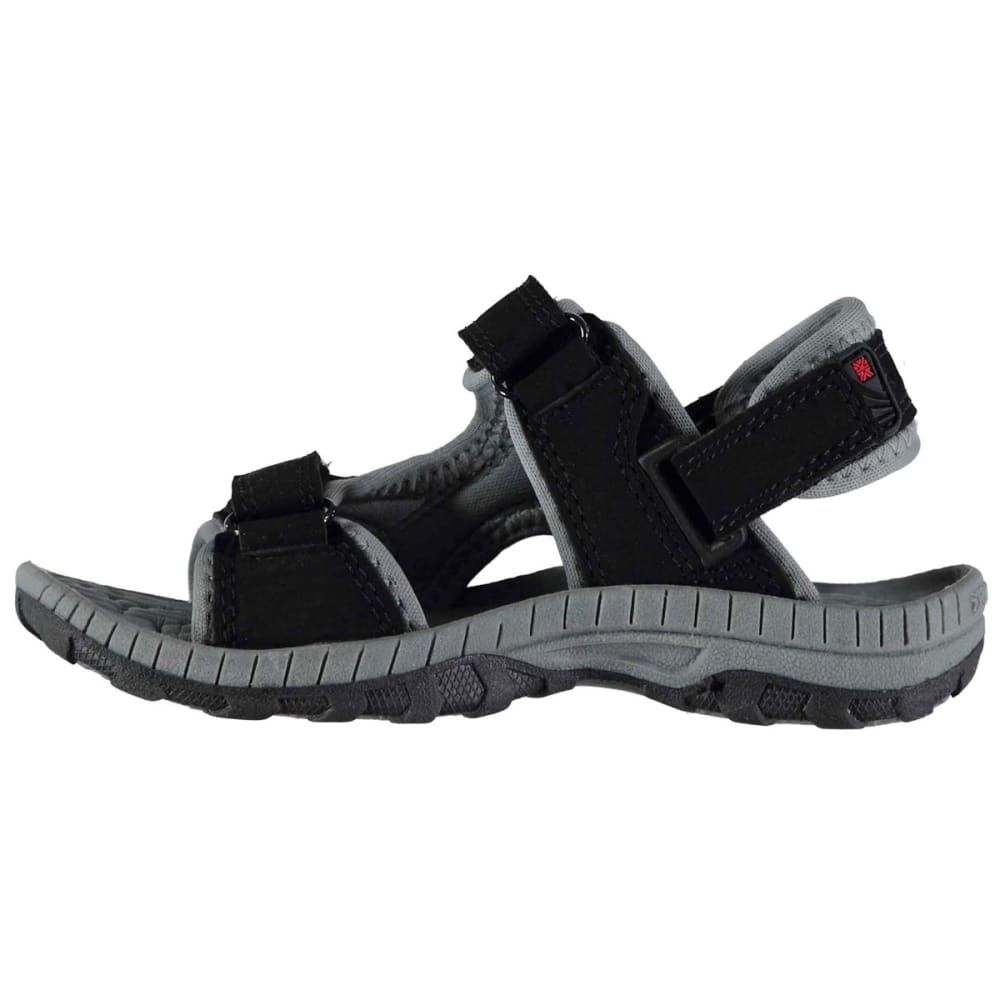 KARRIMOR Boys' Antibes Sandals - BLACK/CHARCOAL