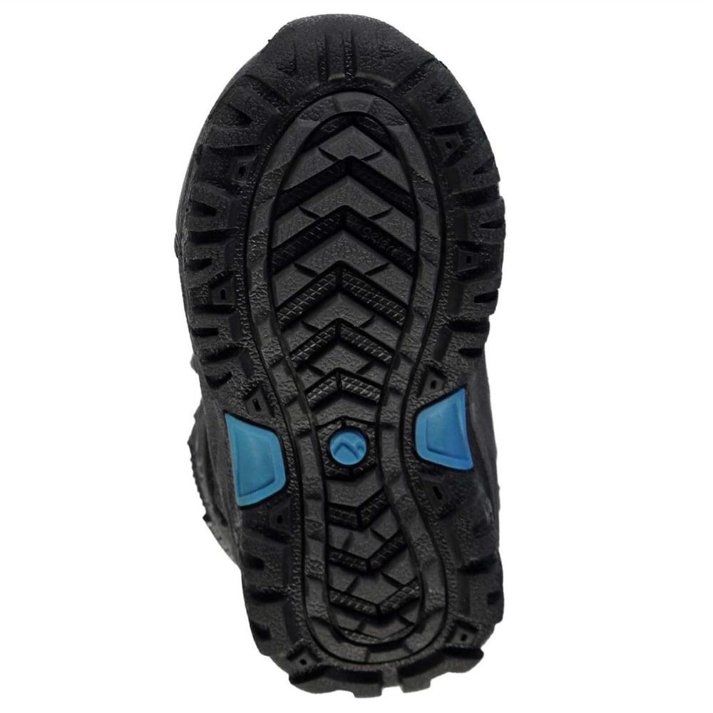 GELERT Toddler Unisex Horizon Mid Waterproof Hiking Boots - CHARCOAL/BLUE