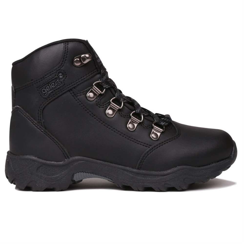 GELERT Kids' Leather Mid Hiking Boots 1