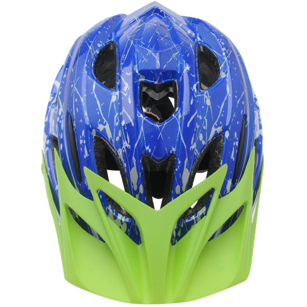 MUDDYFOX Kids' Spark Bike Helmet - BLUE/GREEN