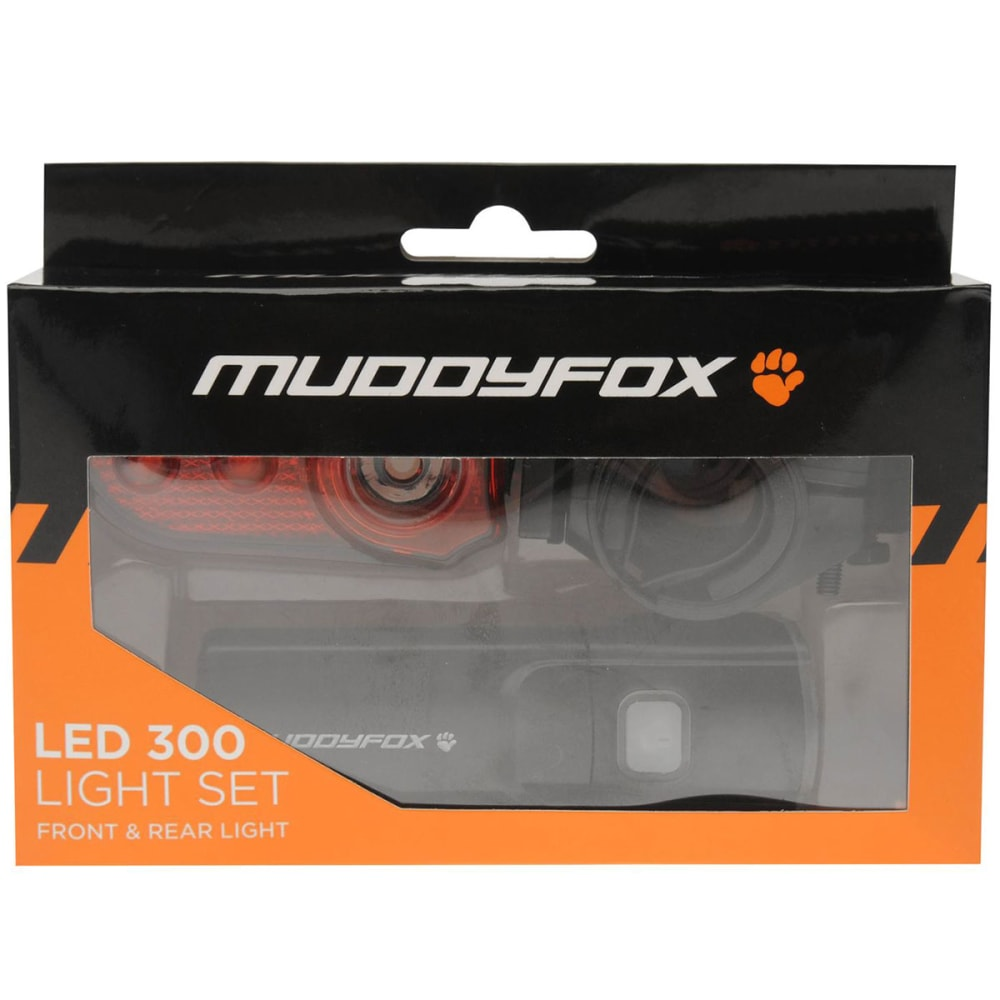 MUDDYFOX LED 300 Bike Light Set - BLACK