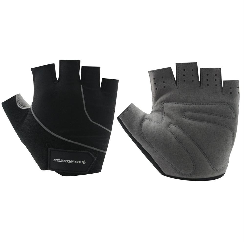 MUDDYFOX Cycle Fingerless Gloves - BLACK