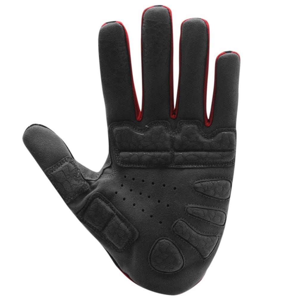 MUDDYFOX MTB Cycling Gloves - BLACK/GREY/RED