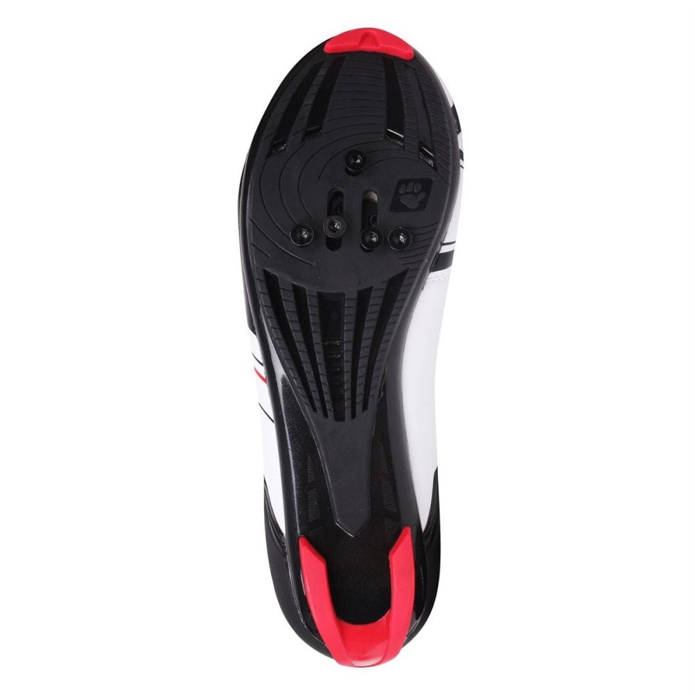 MUDDYFOX Men's RBS100 Cycling Shoes - WHITE/BLACK/RED