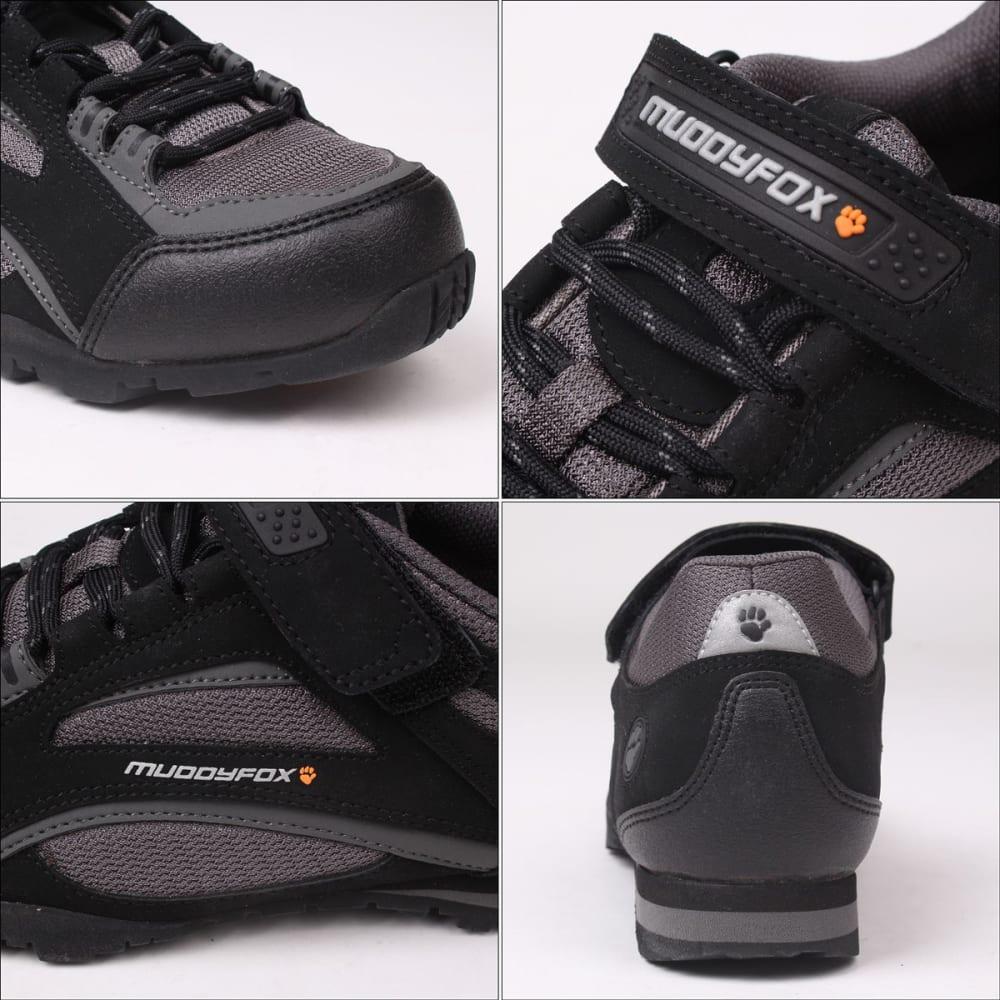 MUDDYFOX Men's TOUR 100 Low Cycling Shoes - BLACK/CHARCOAL