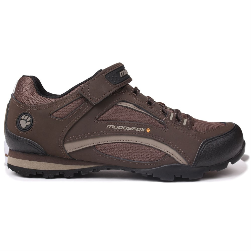MUDDYFOX Men's TOUR 100 Low Cycling Shoes - BROWN