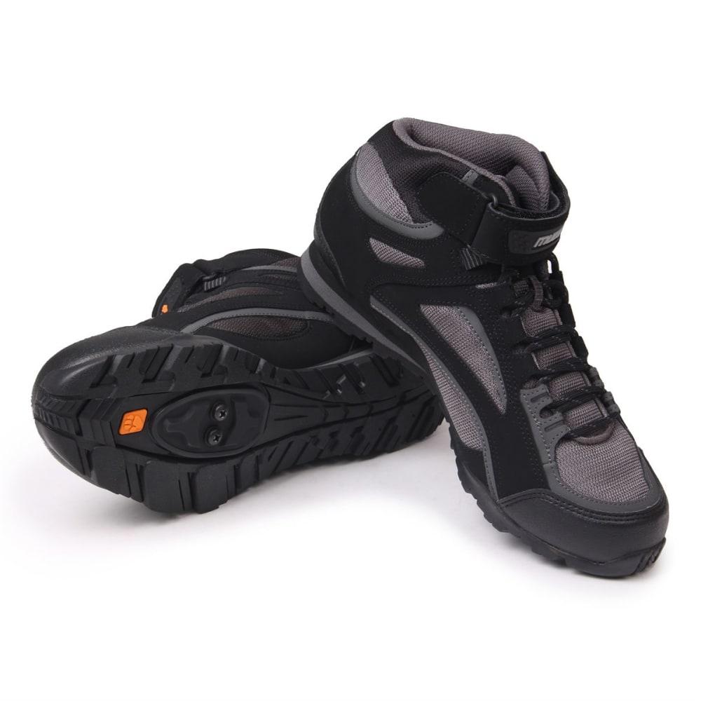MUDDYFOX Men's TOUR 100 Mid Cycling Shoes - BLACK/CHARCOAL