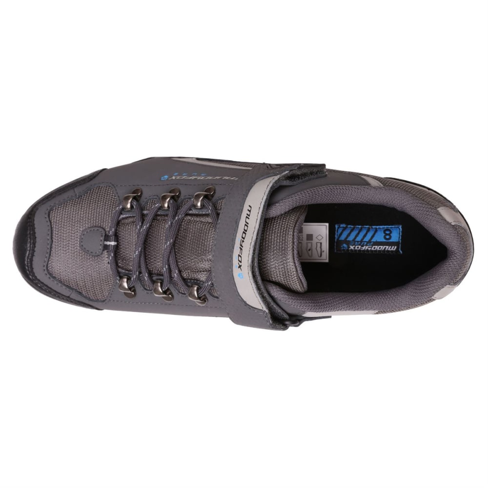 MUDDYFOX Men's TOUR 200 Low Waterproof Cycling Shoes - Char/Grey/Blue
