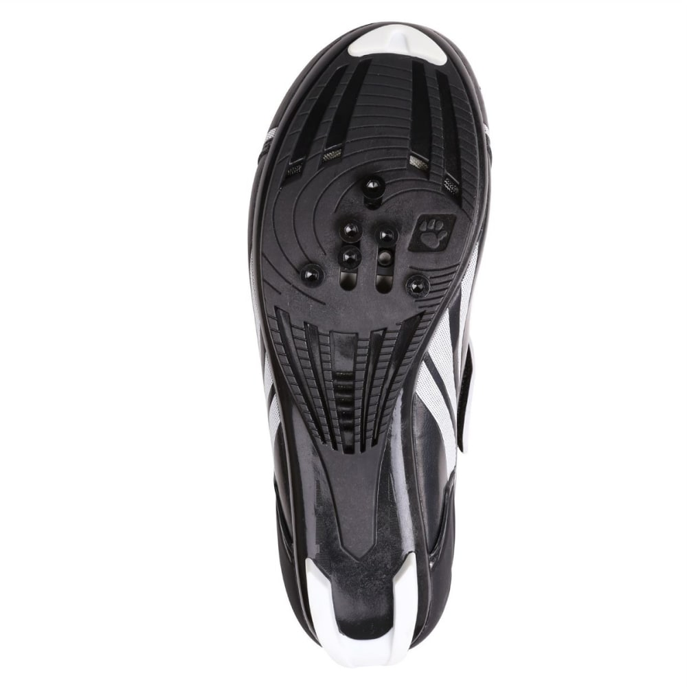 MUDDYFOX Men's TRI100 Cycling Shoes - BLACK/WHITE