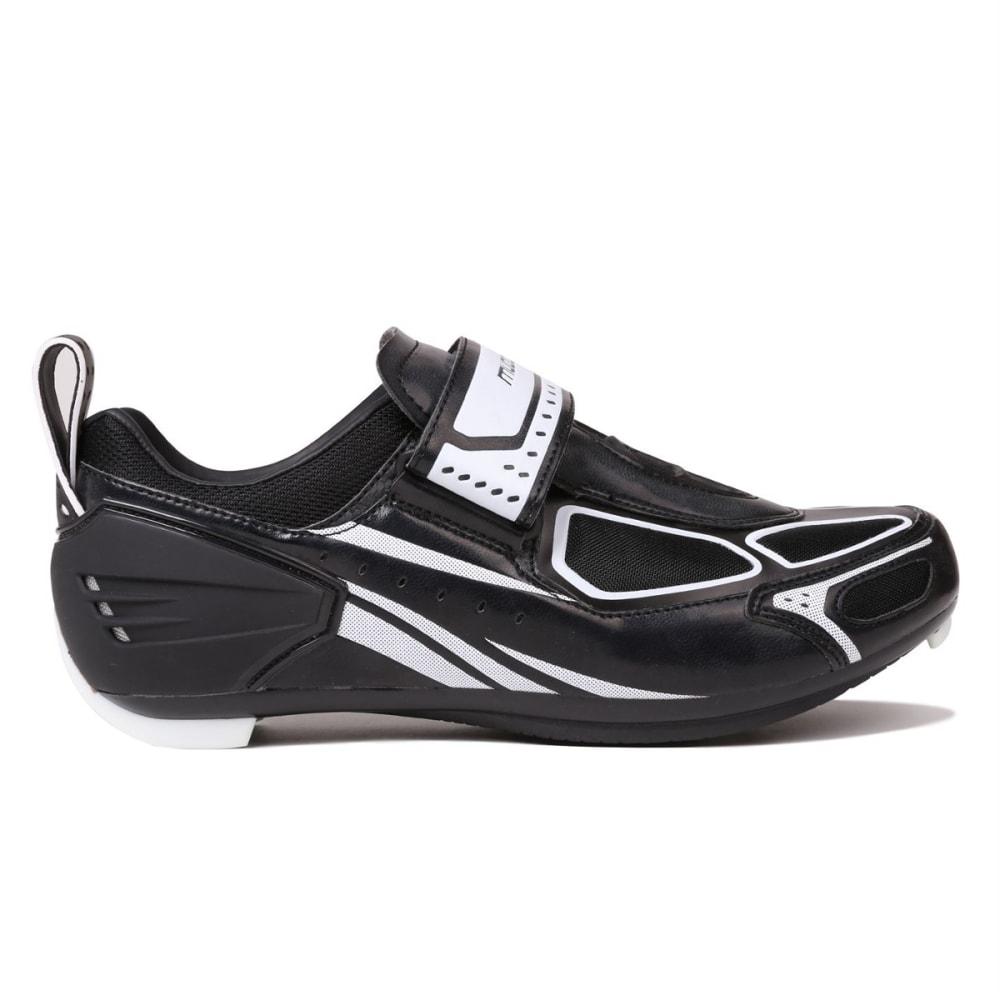 MUDDYFOX Men's TRI100 Cycling Shoes - BLACK/WHITE