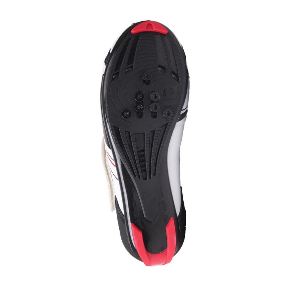 MUDDYFOX Kids' RBS100 Cycling Shoes - WHITE/BLACK/RED