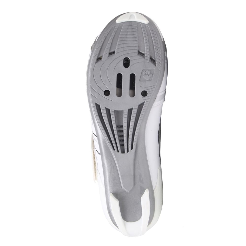 MUDDYFOX Women's RBS100 Cycling Shoes - WHITE/SILVER