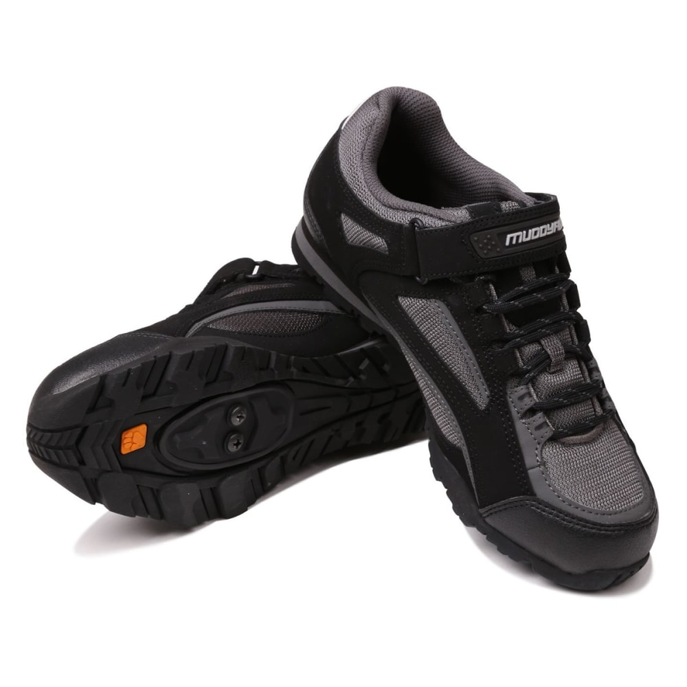 MUDDYFOX Kids' TOUR 100 Low Cycling Shoes - BLACK/CHARCOAL