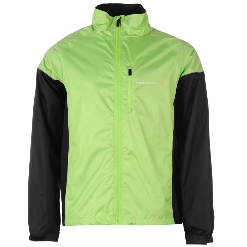 MUDDYFOX Kids' Cycle Jacket - GREEN/BLACK