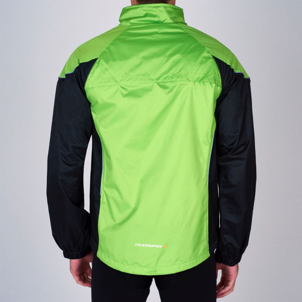 MUDDYFOX Men's Cycle Jacket - GREEN/BLACK