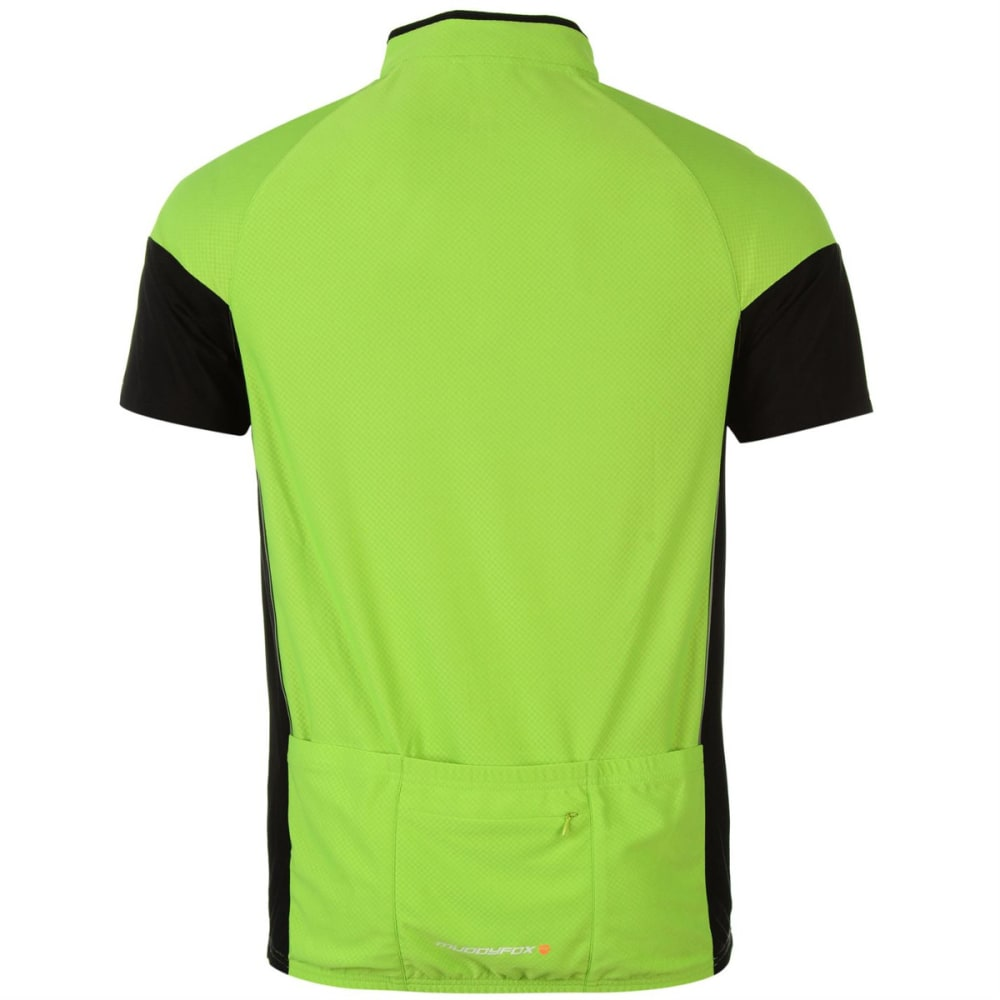 MUDDYFOX Men's Cycling Short-Sleeve Jersey - GREEN/BLACK