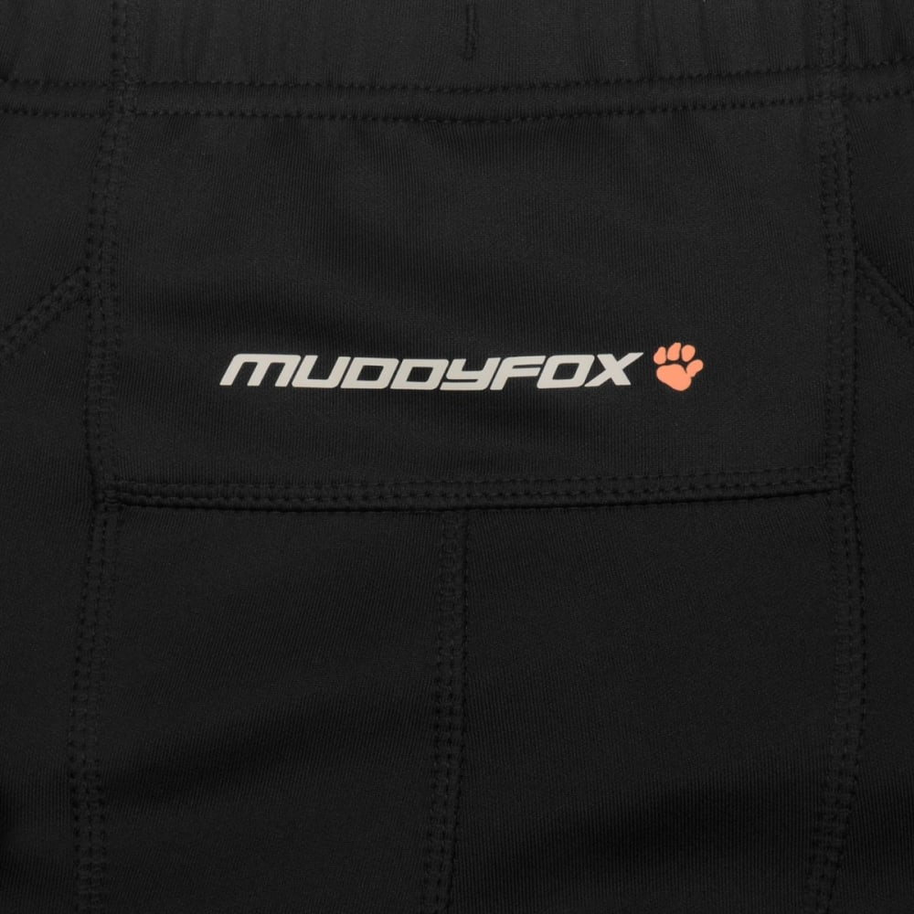 MUDDYFOX Men's Padded Cycling Shorts - BLACK