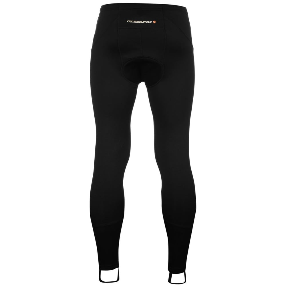 MUDDYFOX Men's Padded Cycle Tights - BLACK
