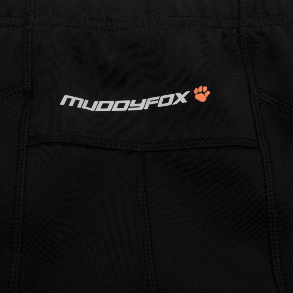 MUDDYFOX Men's Padded Cycle Tights - BLACK