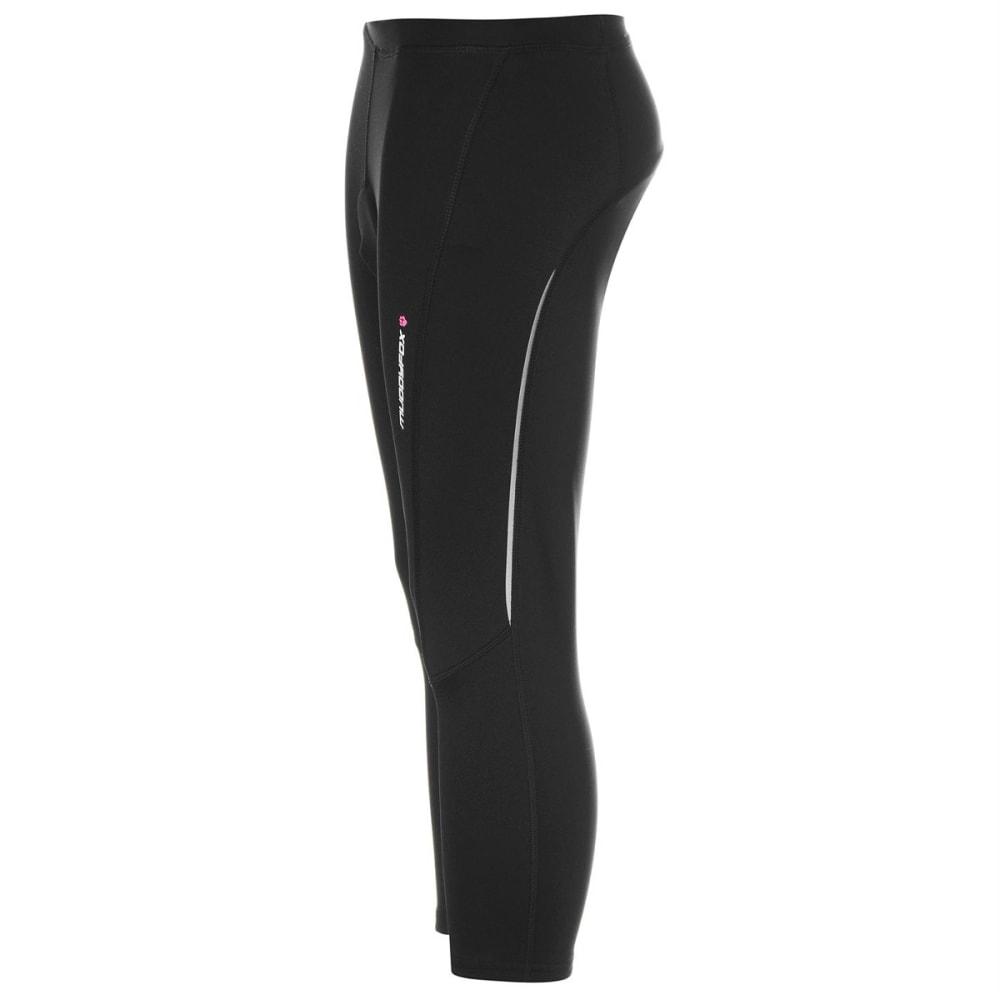 MUDDYFOX Women's Cycle Padded Capri Pants - BLACK