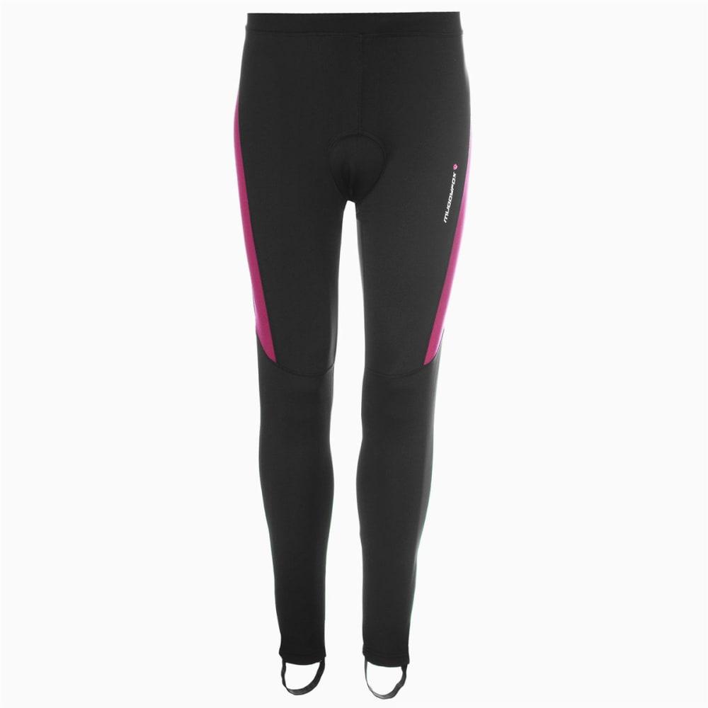 MUDDYFOX Women's Padded Cycle Tights - BLACK/PINK