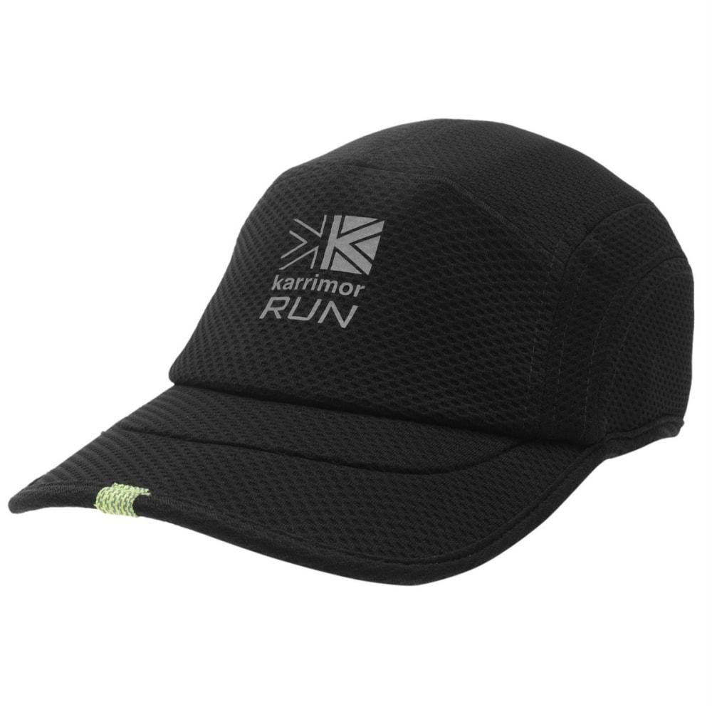 KARRIMOR Men's Race DryX Running Cap - BLACK