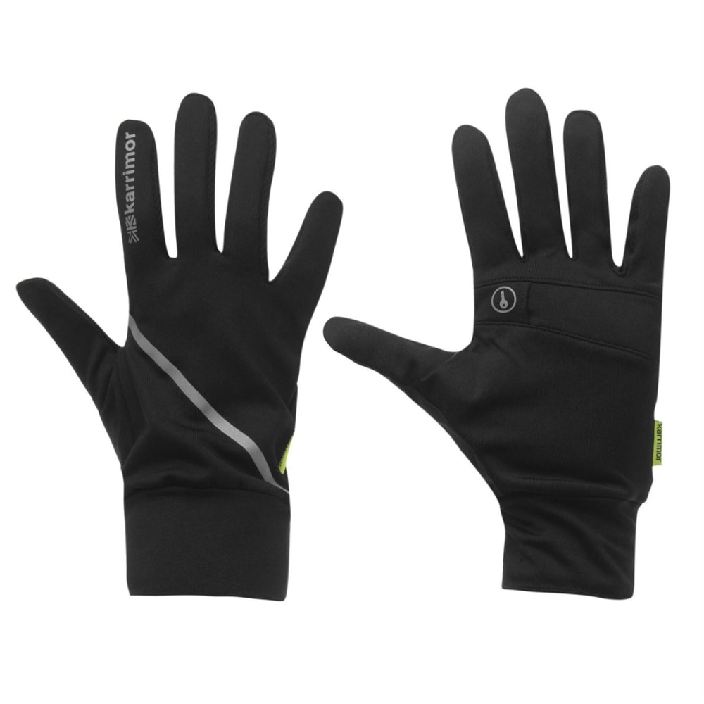 KARRIMOR Women's Running Gloves - BLACK