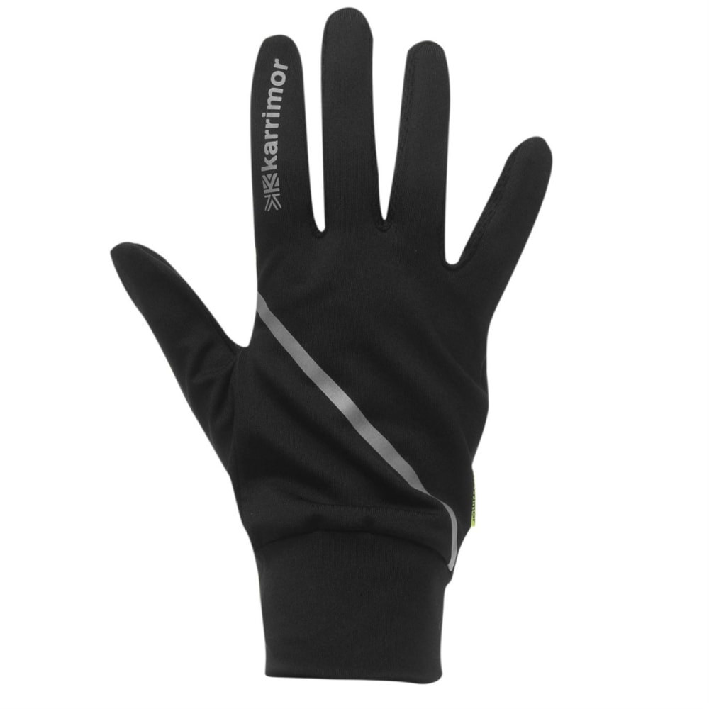 KARRIMOR Men's Running Gloves - BLACK
