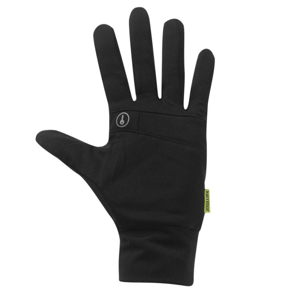 KARRIMOR Men's Running Gloves - BLACK