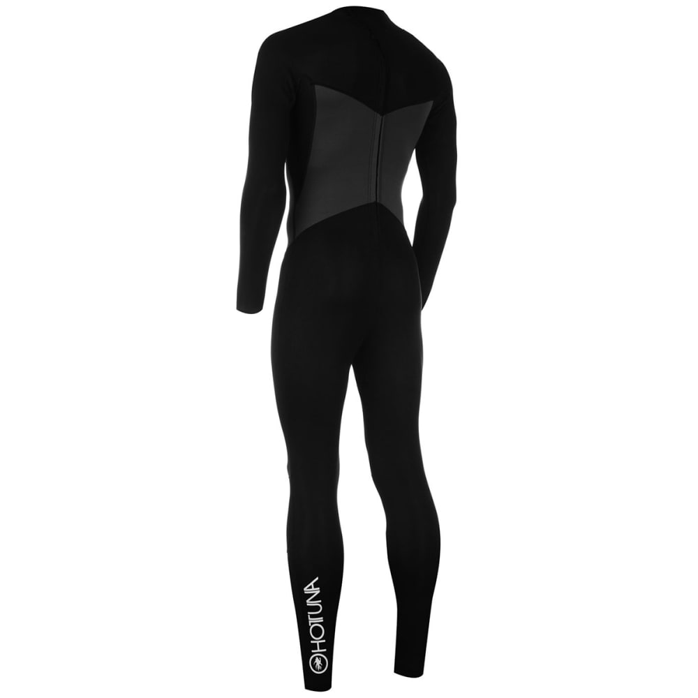 HOT TUNA Men's 2.5mm Full Wetsuit - BLACK/CHARCOAL