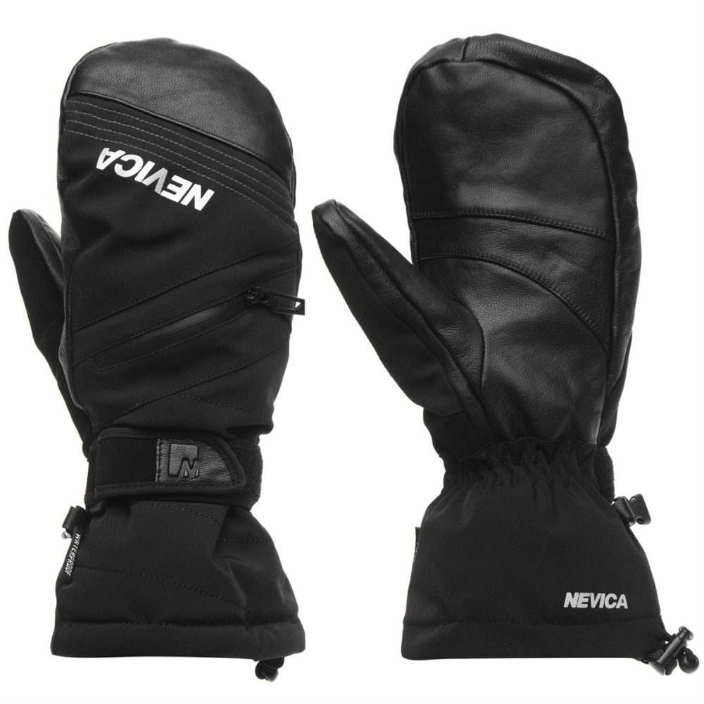 NEVICA Men's Vail Ski Mitts - BLACK