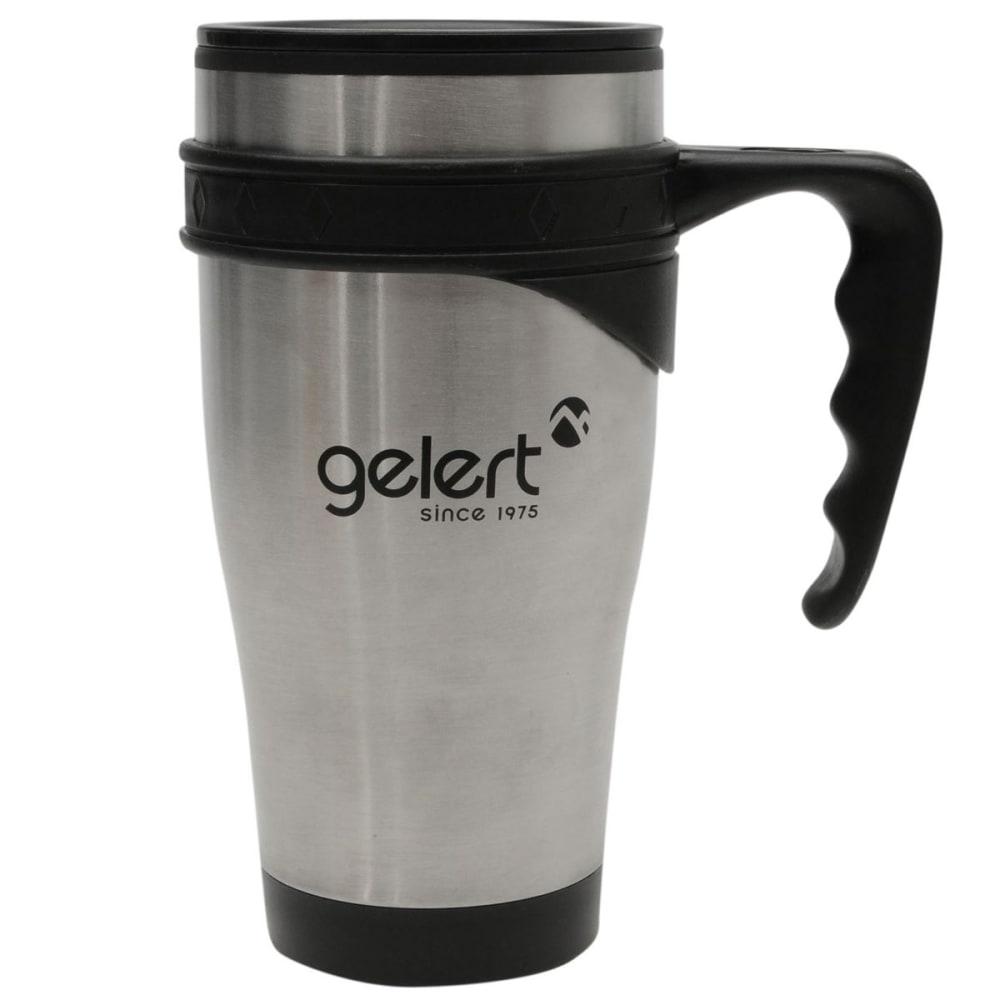 GELERT 450ml Travel Mug - Brushed