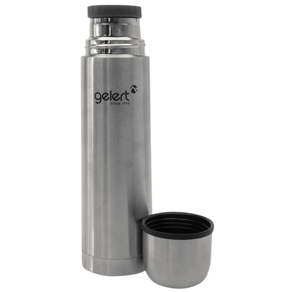 GELERT 1L Flask - Brushed