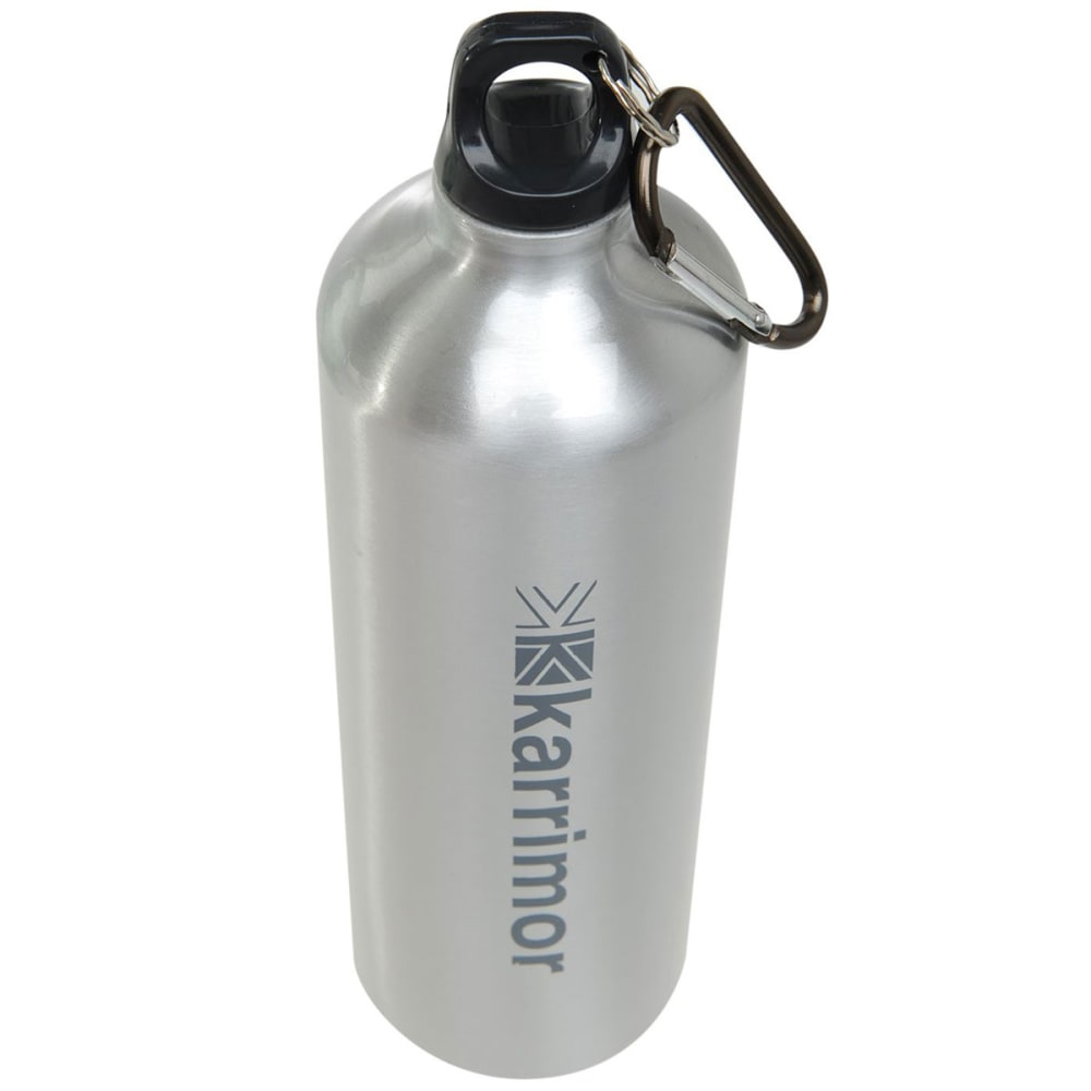 KARRIMOR 1L Aluminum Drink Bottle - Brushed