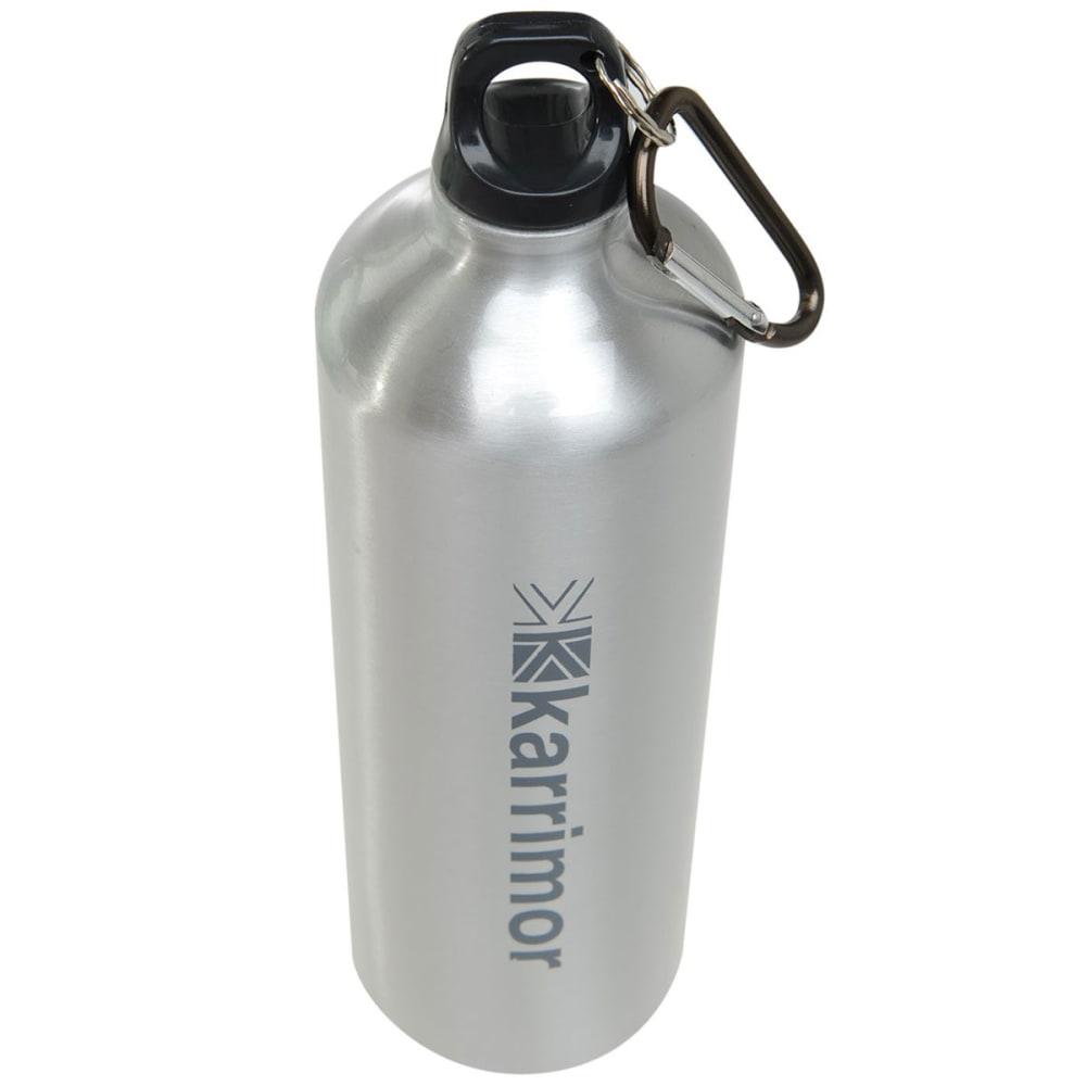 KARRIMOR 1L Aluminum Drink Bottle - Brushed