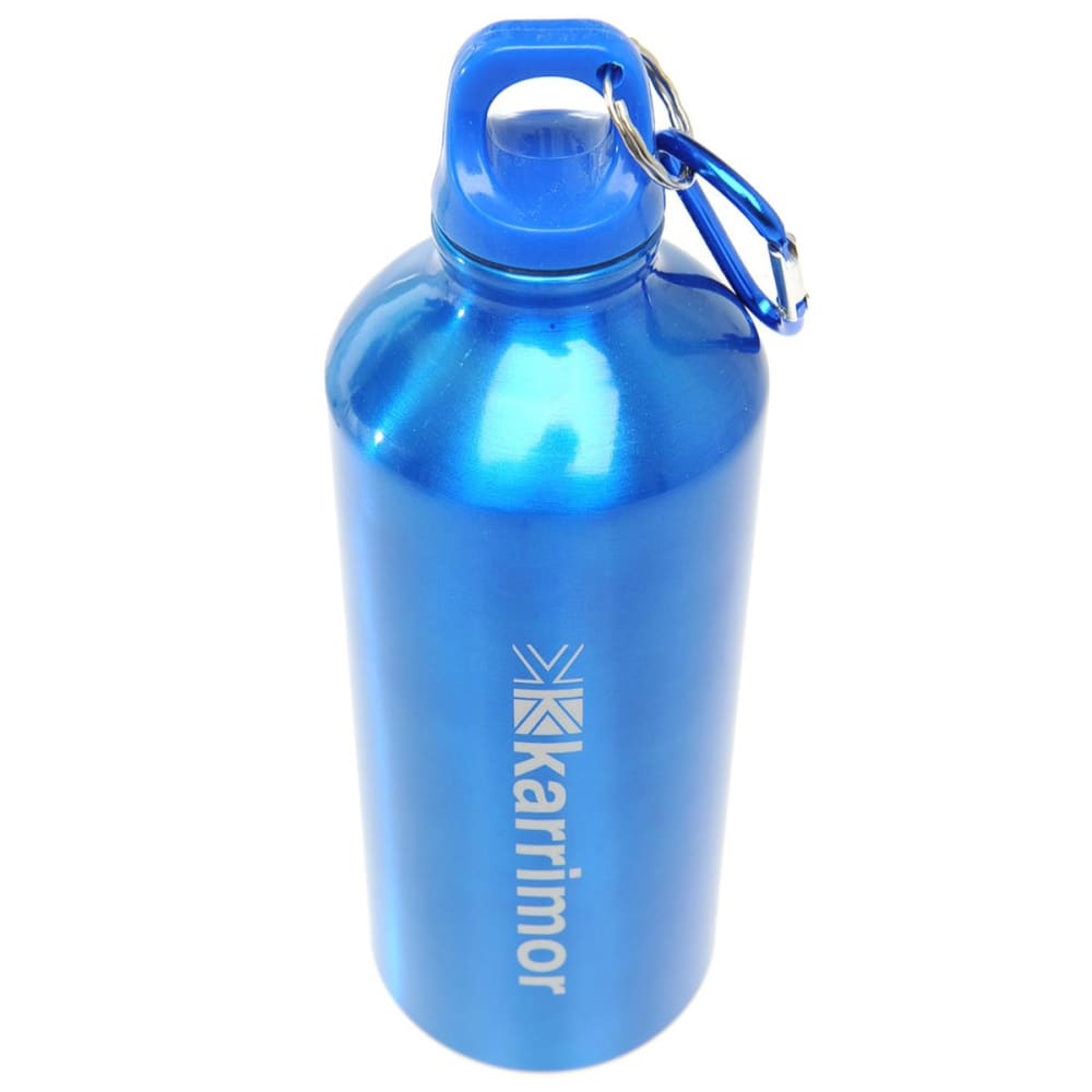 KARRIMOR 600ml Aluminum Drink Bottle - BLUE