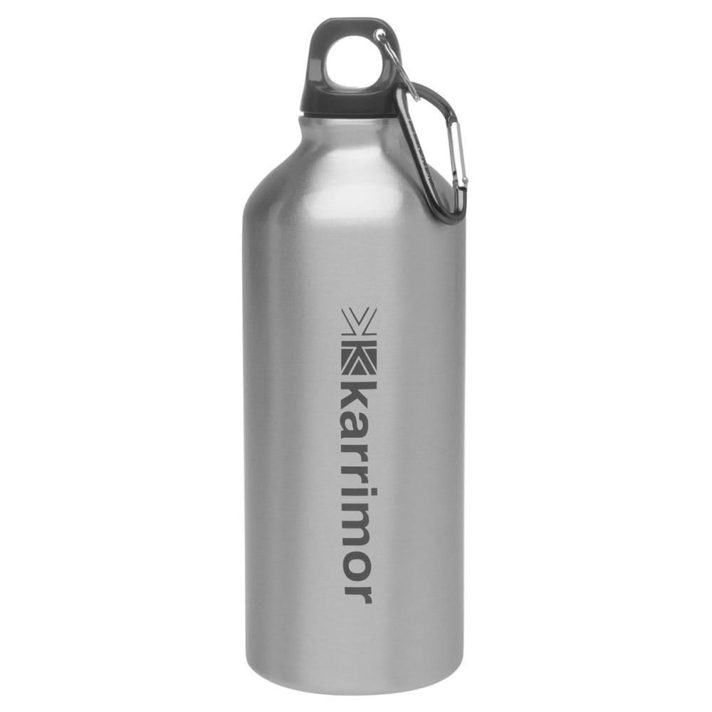 KARRIMOR 600ml Aluminum Drink Bottle - Brushed